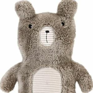 Kuscheln oder Rumschleppen: Der Teddy macht alles mit